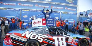 Kyle Busch says he will retire from the NASCAR Xfinity Series after winning 100 races in that division.