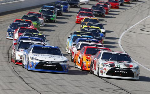 Sights from the NASCAR Xfinity Series action at Chicagoland Speedway, Saturday Sept. 16, 2017.