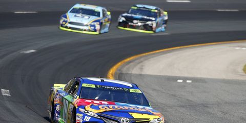 Sights from the Monster Energy NASCAR Cup Series at New Hampshire Motor Speedway, Sunday, Sept. 24, 2017.