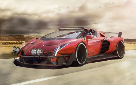Here are some exotic versions of exotic supercars.