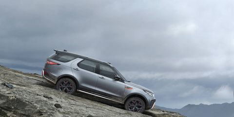 The Land Rover Discovery SVX will be the first Land Rover hand-assembled at the SVO Technical Centre in the UK when production begins in 2018.
