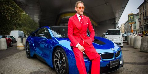 Elkann, 39, is active in the world of fashion and car customization.