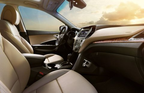 The 2018 Hyundai Santa Fe has seating options for five, six or seven passengers.