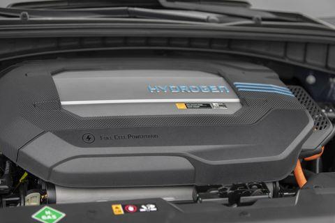 The 2019 Hyundai NEXO in detail