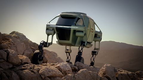 The Elevate concept uses a modular platform that can be swapped out for various missions.