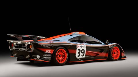 """This McLaren F1 GTR """"25R"""" is the first to go through McLaren's authentication service."""