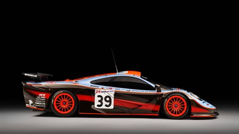 "This McLaren F1 GTR ""25R"" is the first to go through McLaren's authentication service."