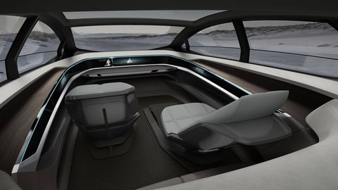 The Audi Aicon will be the basis of a driverless fleet.