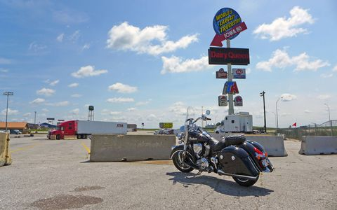 No trip is complete without a visit to the World's Largest Truckstop, conveniently located off of I-80 in Iowa