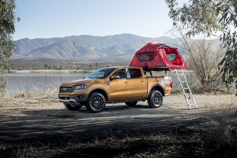 Ford dealers offer Yakima gear right in the showroom so you can set up your Ranger exactly as you like it.