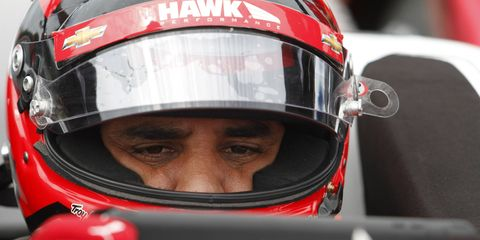Juan Pablo Montoya comes into the month of May at Indianapolis with the Verizon IndyCar Series points lead.