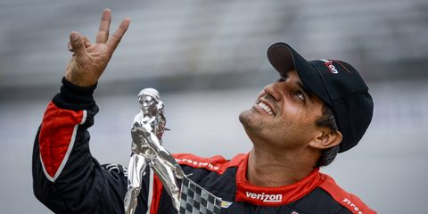 Juan Pablo Montoya's Indy 500 win on Sunday brought solid viewership numbers to ABC TV.