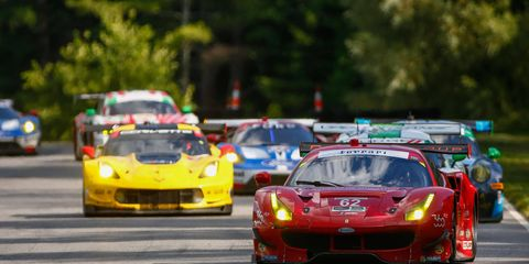 The Risi Competizione No. 62 Ferrari 488 GTLM team, with drivers Giancarlo Fisichella and Toni Vilander expect to be racing for the win in Virginia.