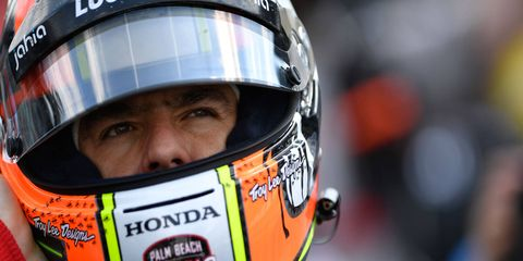 Oriol Servia's best finish in the Indy 500 was fourth in 2012.