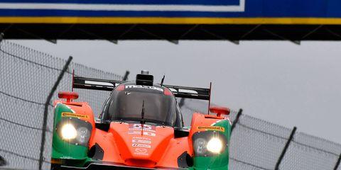 Tristan Nunez put Mazda on the pole in Canada on Saturday.