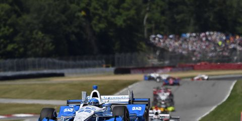 Simon Pagenaud isn't planning on letting up as IndyCar season winds down.
