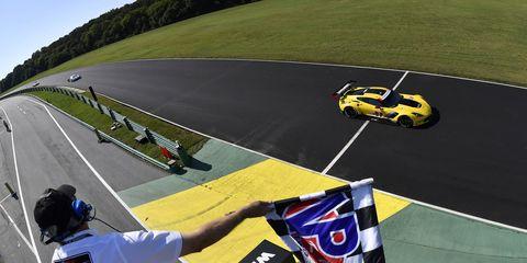 Jan Magnussen and Antonio Garcia picked up their first IMSA SportsCar Championship win on Sunday at VIR.