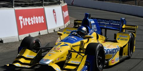 Marco Andretti cruises to his best finish of 2016 -- an eighth-place result to close out the season in Sonoma.