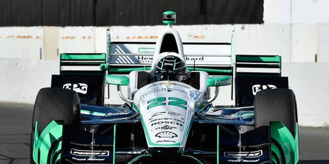 Simon Pagenaud came into the IndyCar Series finale with a 44-point lead in the standings and took care of business with the win.