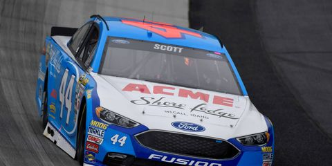Brian Scott is retiring from NASCAR Sprint Cup after one full season in the No. 44 car for Richard Petty Motorsports.