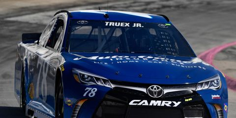Martin Truex Jr. captured his fifth pole of the season on Friday at Martinsville Speedway