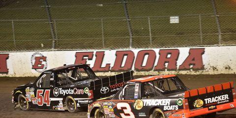 NASCAR's Camping World Trucks Series has raced at Eldora Speedway since 2013.