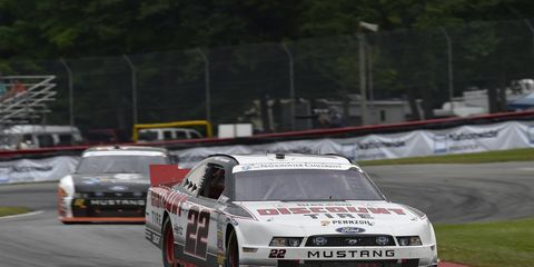 Alex Tagliani, shown in 2014, will again race for Team Penske at Mid-Ohio this year.