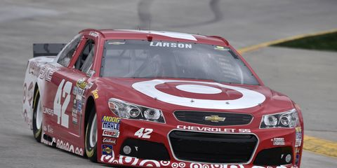 Kyle Larson will sit out Sunday's NASCAR Sprint Cup race after fainting on Friday. The move appears not to be serious and purely precautionary.