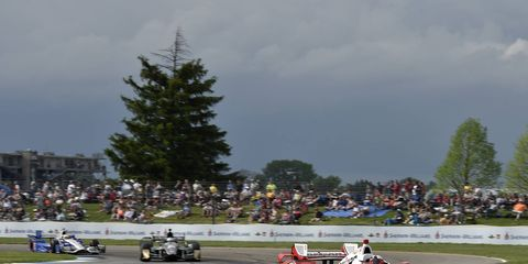 IndyCar is heading to the road course at Indianapolis Motor Speedway this weekend.