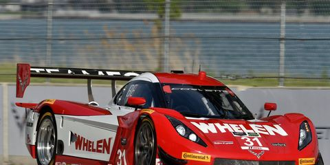 Eric Curran and Dane Cameron piloted a Corvette DP for Action Express to the win on Belle Isle.