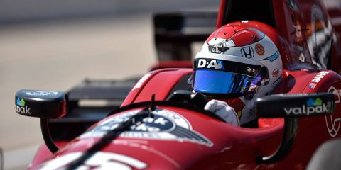 Graham Rahal and Honda are 42 points back of Juan Pablo Montoya with three races remaining in the Verizon IndyCar Series.