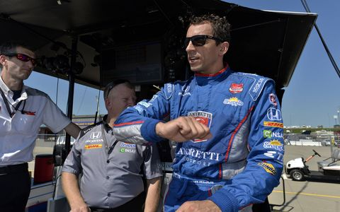 Justin Wilson, 37, died from injuries suffered Sunday at Pocono Raceway in Long Pond, Pa. He was stuck in the helmet by crash debris and was in a coma until his death on Monday.