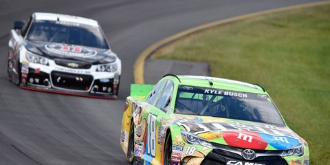 Kyle Busch may be the favorite for the NASCAR Sprint Cup Series championships, yet he still has some work to do to qualify for the Chase.