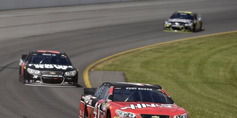 Kurt Busch and Stewart-Haas Racing reportedly have a handshake deal in place for next season.