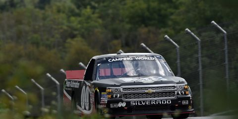 Cole Custer, shown racing in Canada, is ready to win again in New Hampshire.