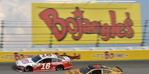 NASCAR is setting to run it's second race with its low-downforce package.