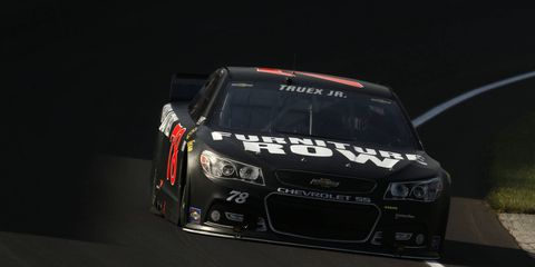 Martin Truex Jr. is hoping to sweep Pocono with a win this weekend.