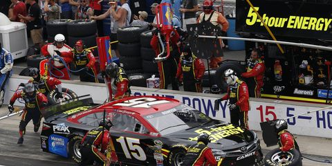 Rob Kauffman's investment in Chip Ganassi Racing could mean Clint Bowyer's No. 15 team will leave Michael Waltrip Racing.
