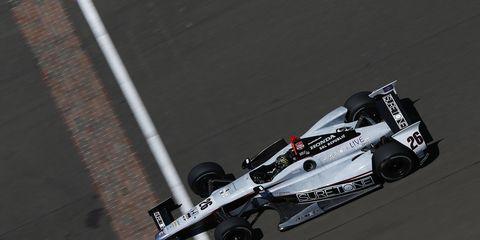 Kurt Busch raced in the Indy 500 in 2014. He'd like to race in it again.