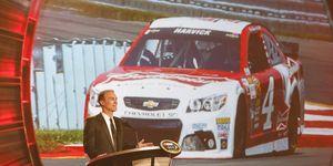Kevin Harvick reaches NASCAR's summit.