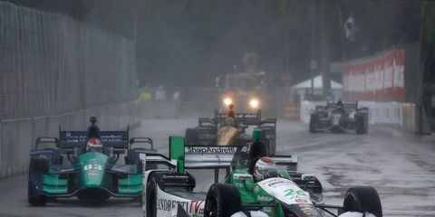 Carlos Munoz and Andretti Autosport called the right strategy in their IndyCar Series win on Belle Isle on Saturday.