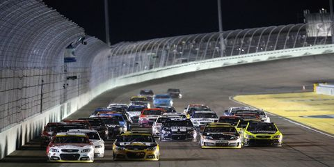 Watch video of the final pit stops at Homestead-Miami during the NASCAR Sprint Cup championship race.