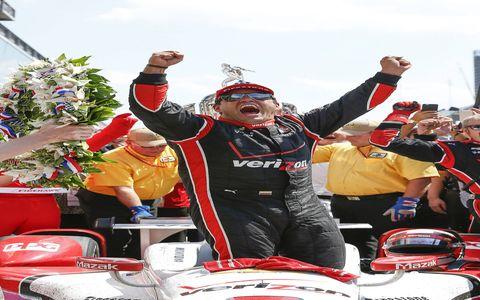 Juan Montoya, Chevy win the Indy 500 for Team Penske