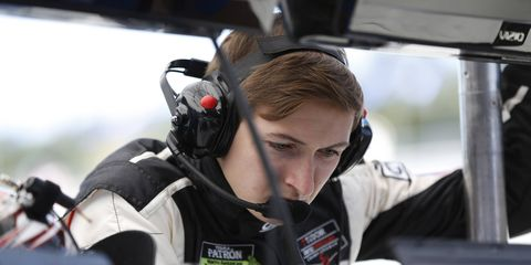 Zach Veach will race for JR Hildebrand in the Ed Carpenter Racing Chevrolet this weekend in the Grand Prix of Alabama.