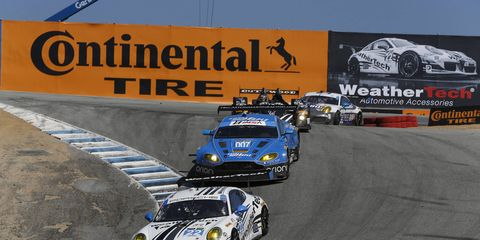 Porsche Motorsports North America was penalized 35 manufacturer points in the GT Daytona class of the Tudor SportsCar Championship for a technical rules infraction discovered in post-race inspection on Laguna Seca.