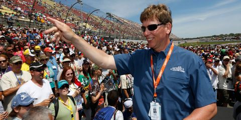 Roger Curtis has led Michigan International Speedway -- home of two NASCAR Sprint Cup Series race weekends -- since 2006.