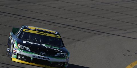 Denny Hamlin needs to finish in 11th place or better in Phoenix in order to advance to the championship race at Homestead. Hamlin took a big step toward that goal with a solid qualifying run.