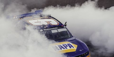 Chase Elliott finished fifth in the Phoenix Nationwide race, but the rookie, 18, became the youngest NASCAR champion in history.