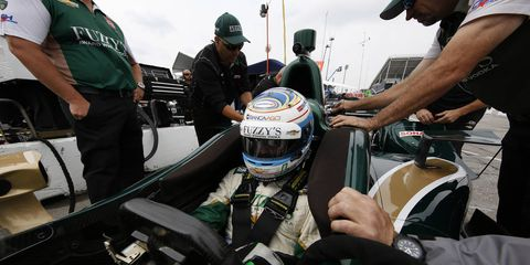 Ed Carpenter is ready to show his best stuff at Auto Club Speedway.