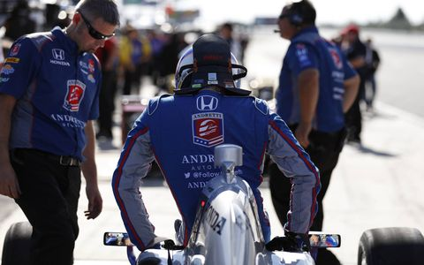 Justin Wilson, 37, died from injuries suffered Sunday at Pocono Raceway. He was stuck in the helmet by crash debris and was in a coma until his death on Monday.